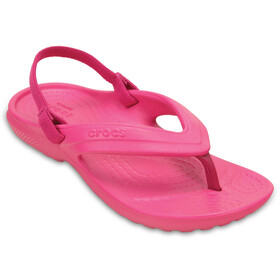 Crocs Classic Flip - Sandales Enfant - rose